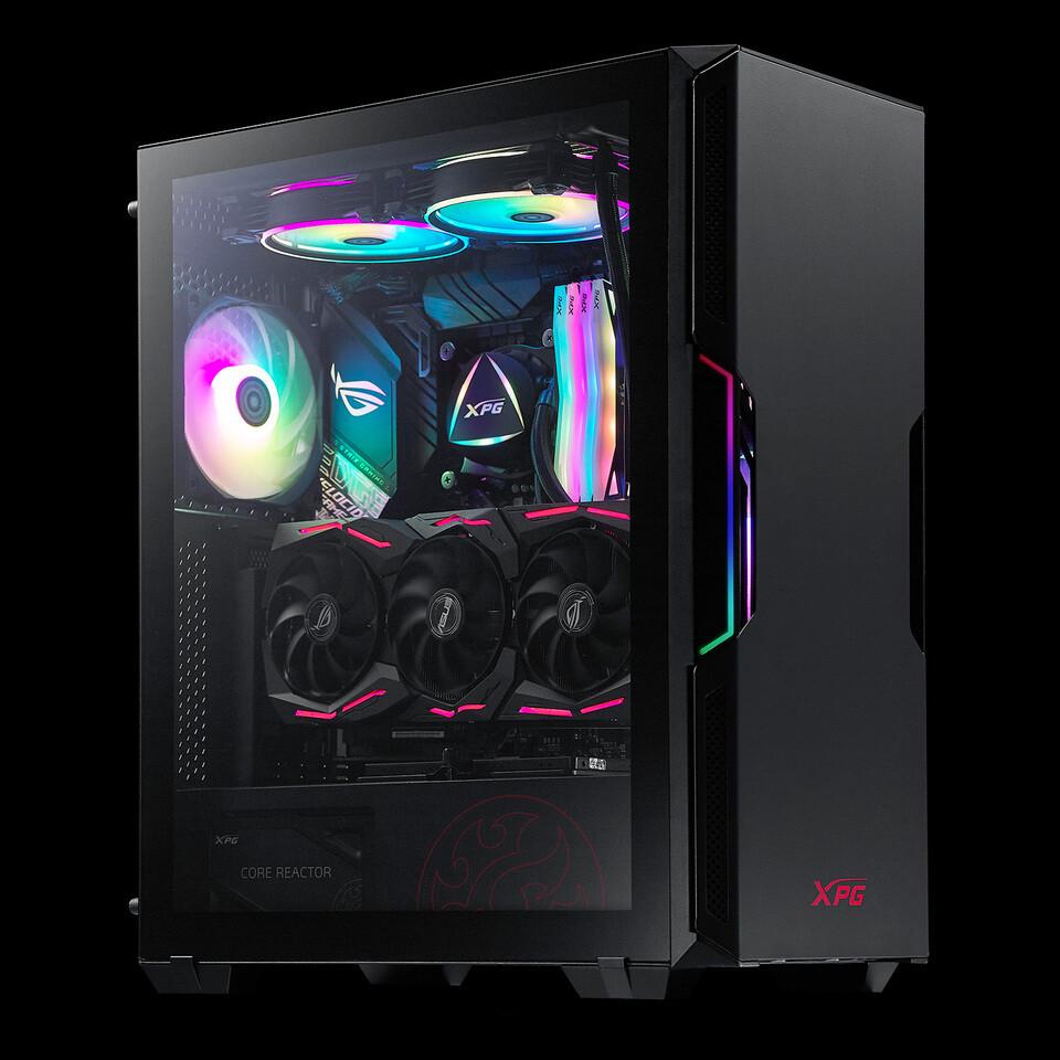 شركة XPG تعلن عن صندوق الحاسب XPG STARKER صغير الحجم لمجتمع اللاعبين