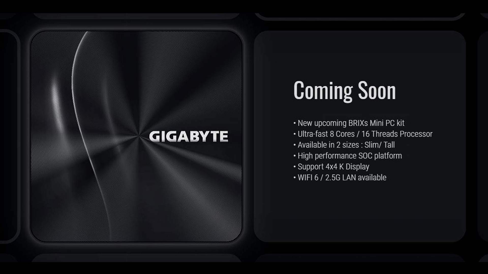 GIGABYTE BRIX Mini-PC