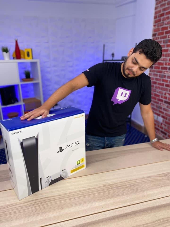 PS5 سوني Unboxing فتح صندوق