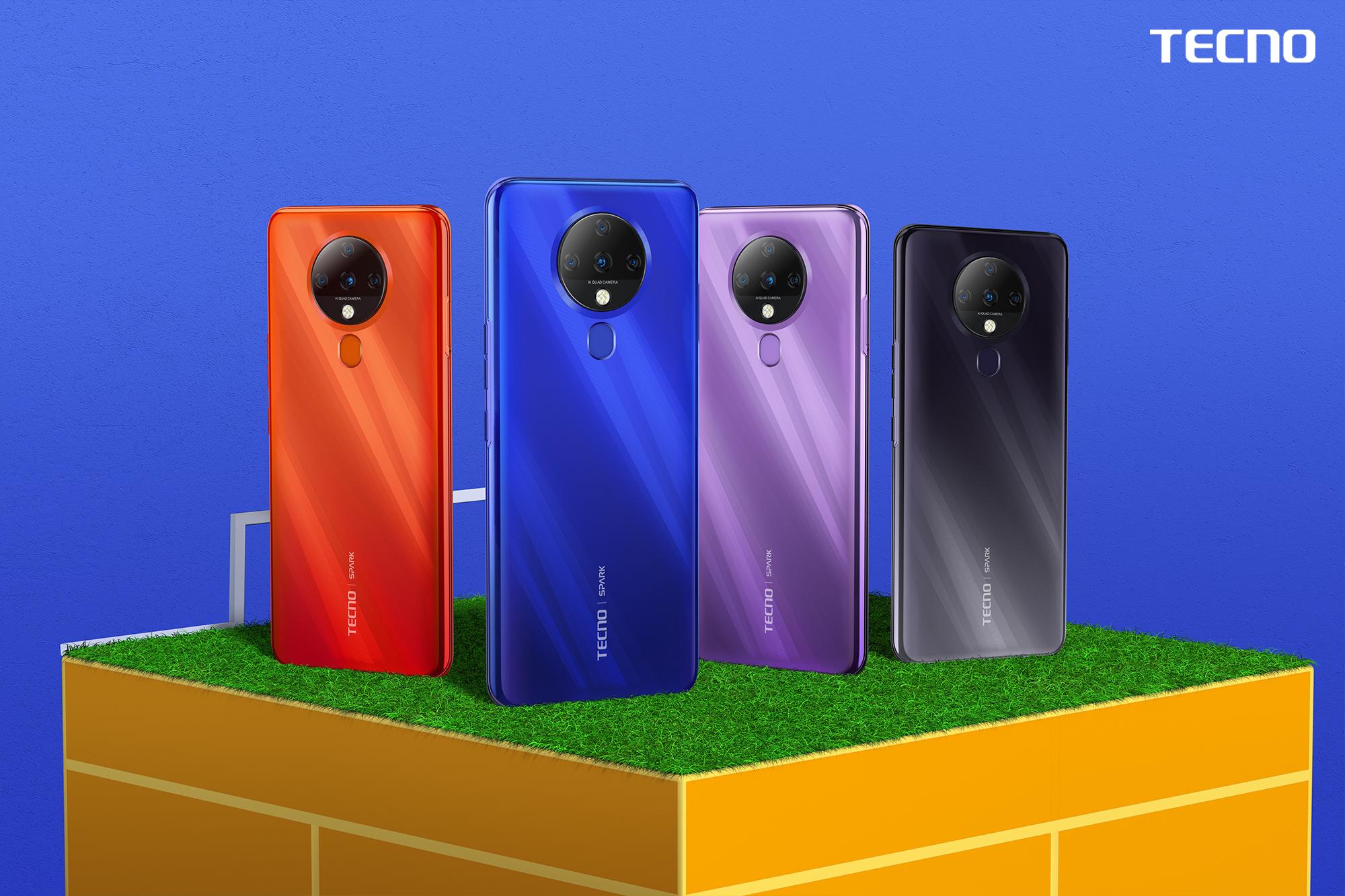 هاتف تكنو موبايل الجديد Spark 6