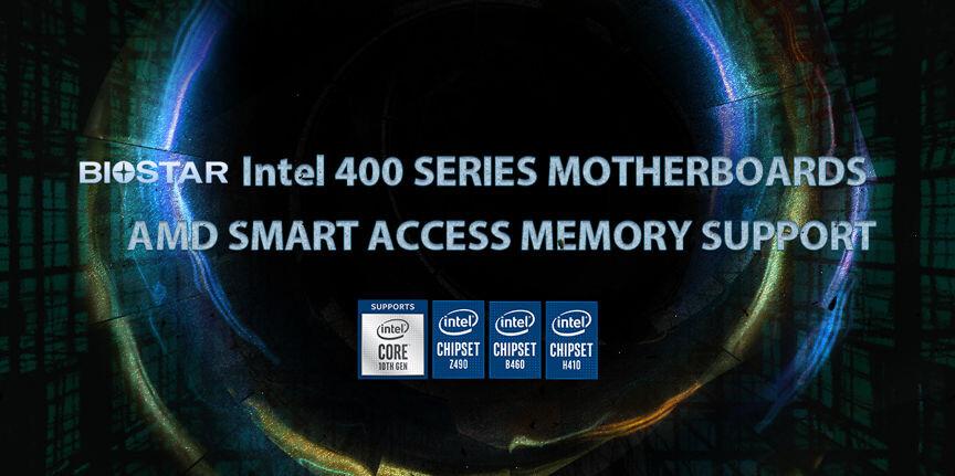 شركة BIOSTAR تعلن عن دعم لوحاتها الأم من سلسلة Intel 400 لتقنية SAM