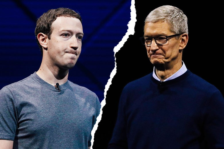 tim cook vs mark zukerberg
