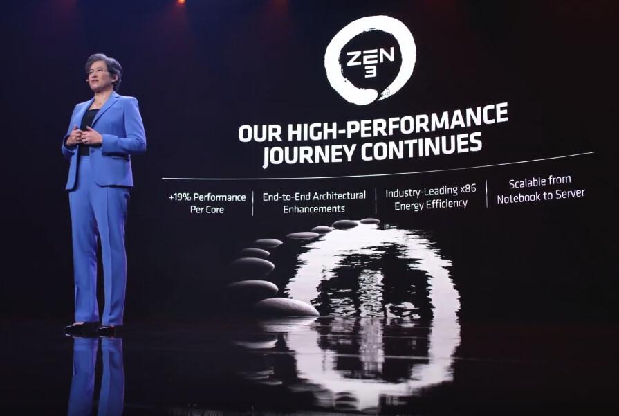 CES21 : شركة AMD تزيح الستار عن معالجات Ryzen 5000U الموفرة للطاقة