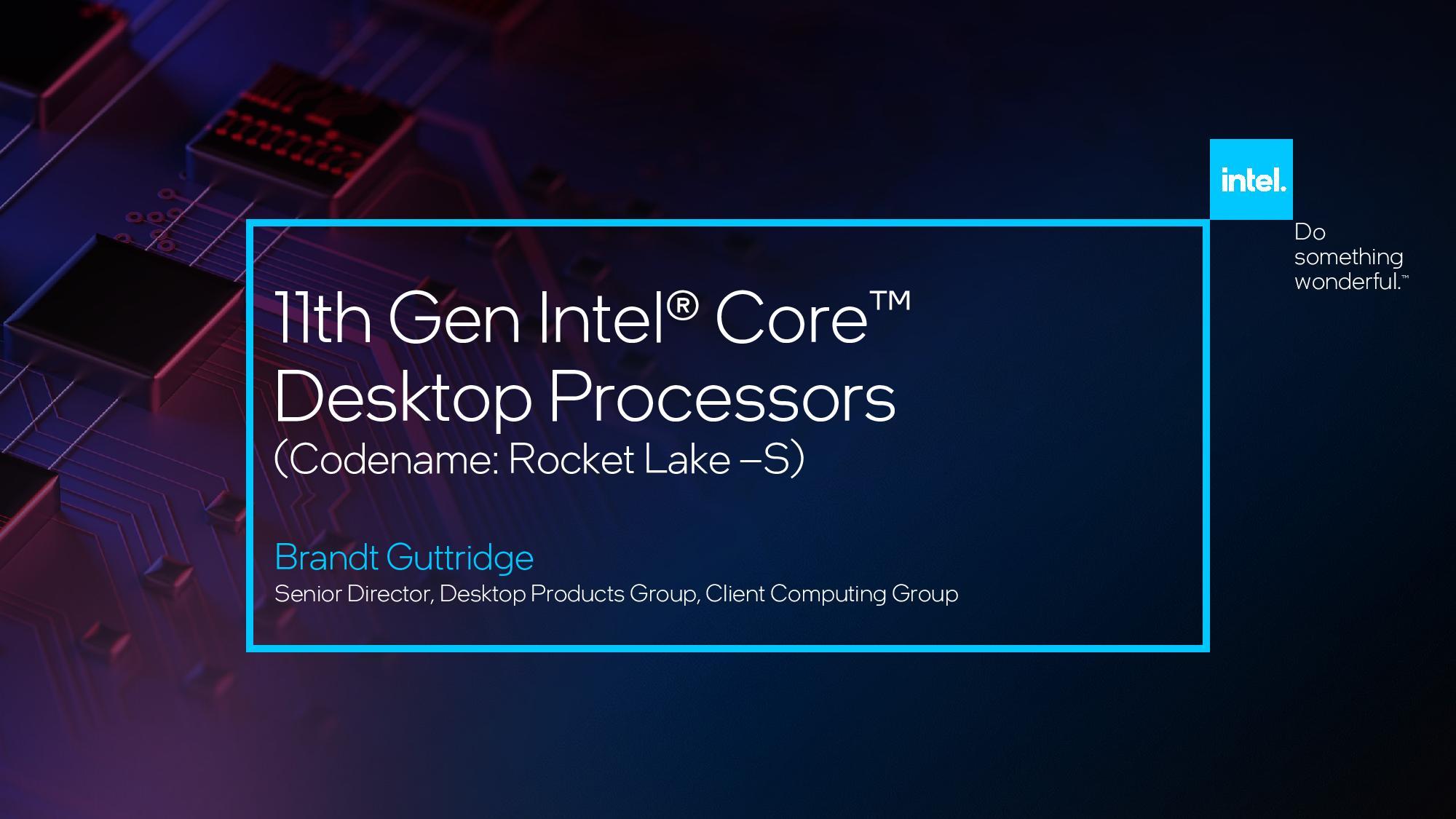 Intel Core i9-11900K CES 2021 2