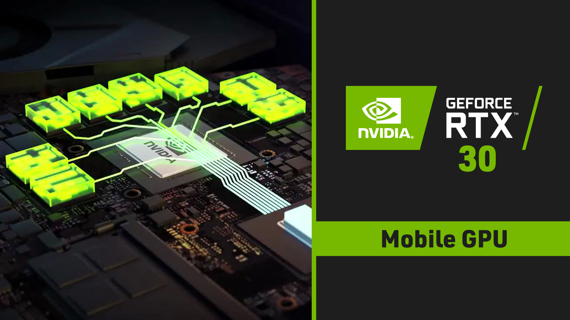 NVIDIA RTX 30 mobile GPU1