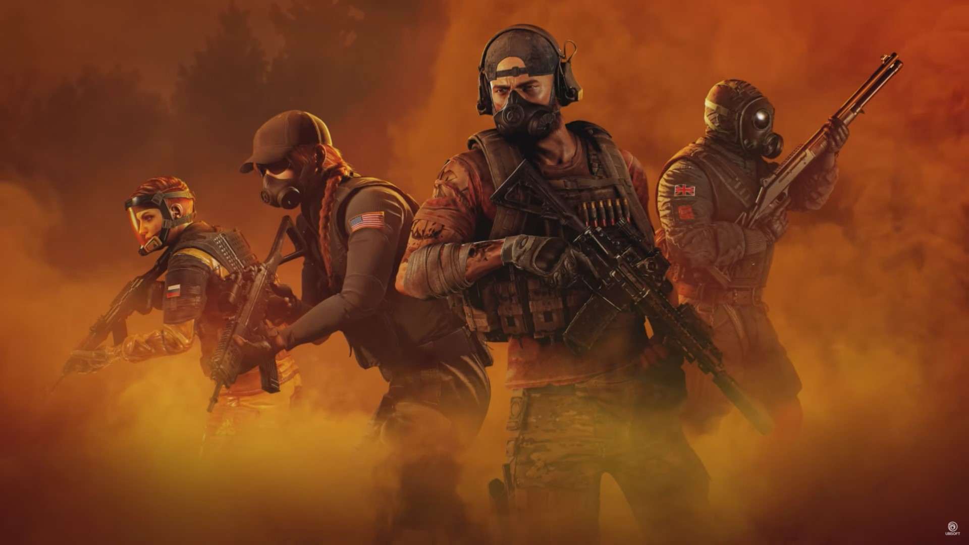 ghost recon breakpoint and rainbow six siege Amber Sky فعالية