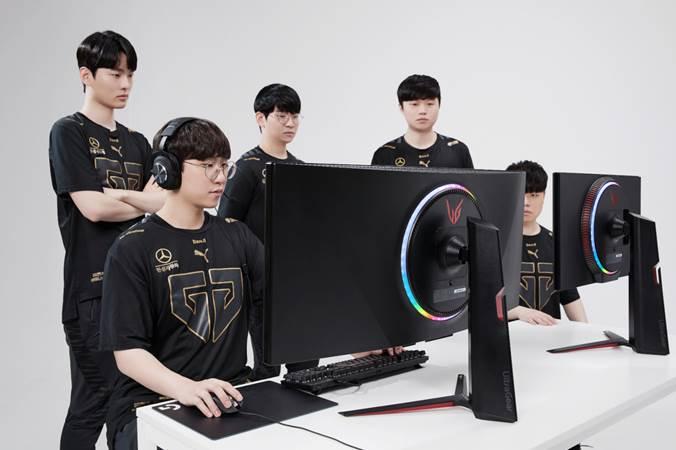 CES21 : شركة LG تتعاون مع شركة Gen.G E-Sports عن طريق شاشة UltraGear