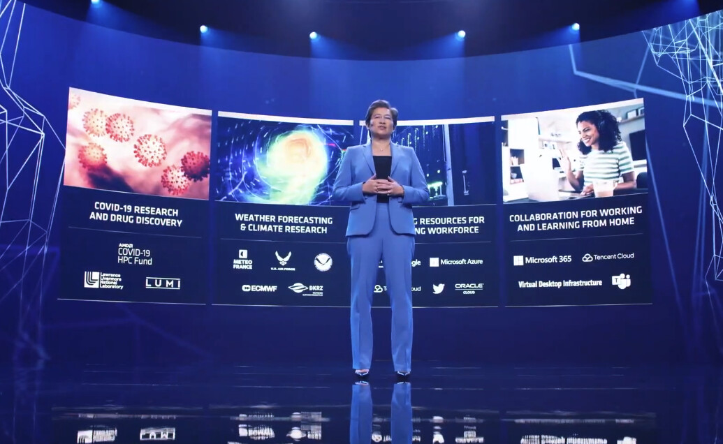 CES21 : شركة AMD تستعرض قوة معالجات EPYC الجديدة مقابل عروض Intel !!