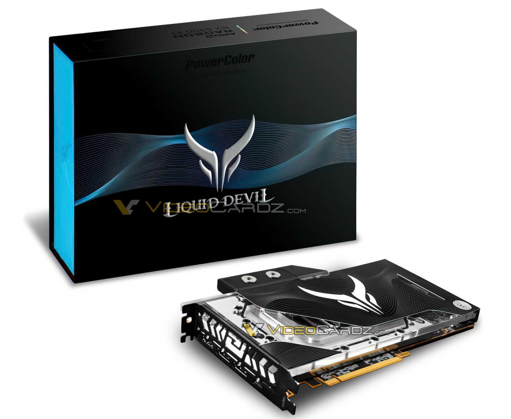 تسريب صور بطاقة Radeon RX 6900 XT Liquid Devil من شركة PowerColor