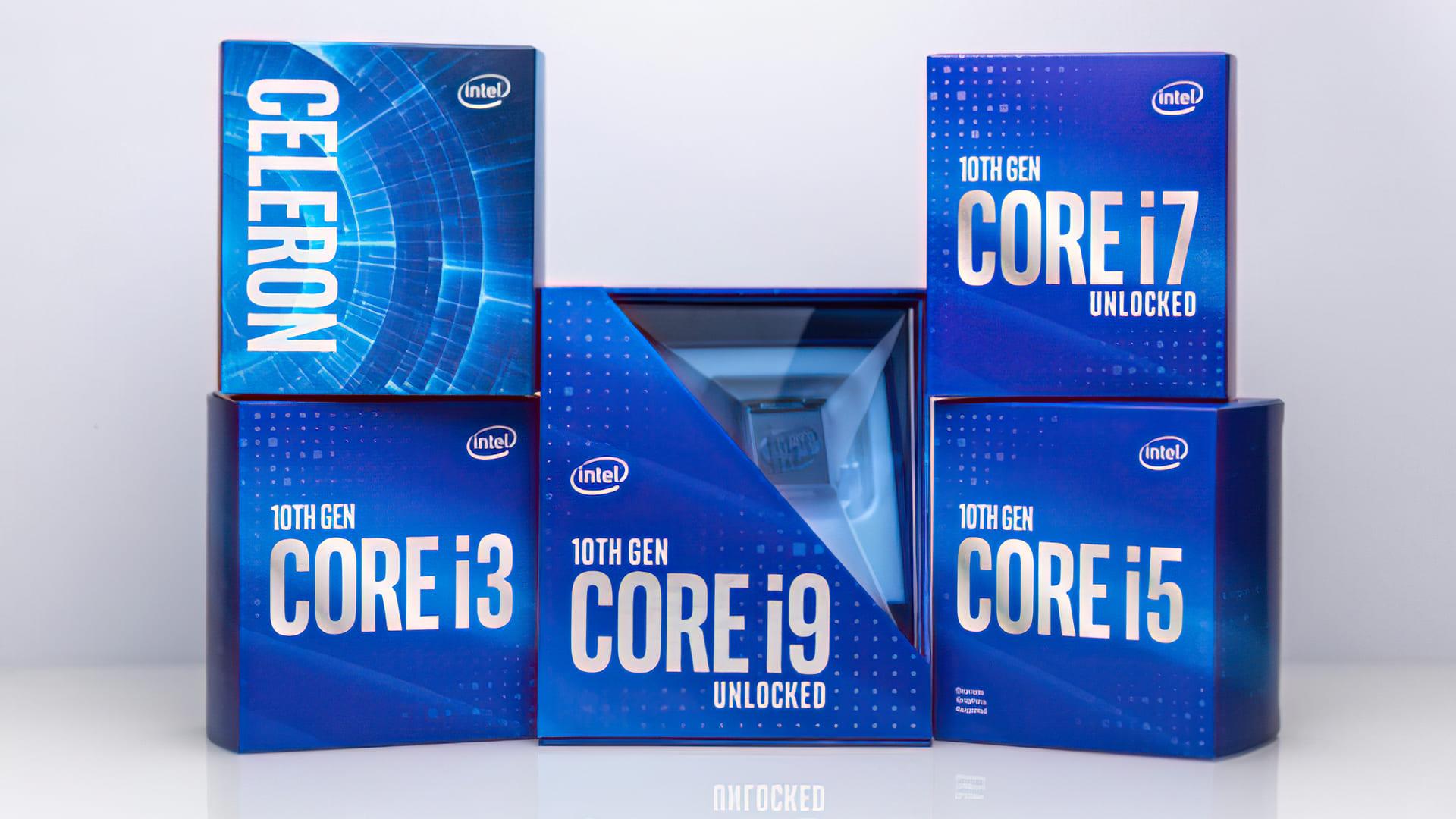 مع لوجو جديد وتعبئة أحدث، شركة Intel تستعد للجيل القادم مع معالجات i3