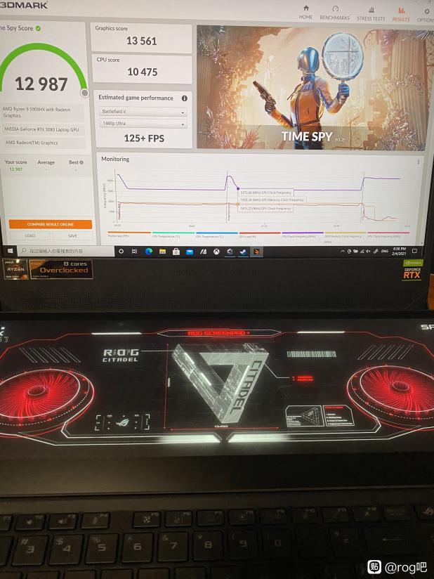 ASUS Zephyrus Duo RTX 3080 vBIOS