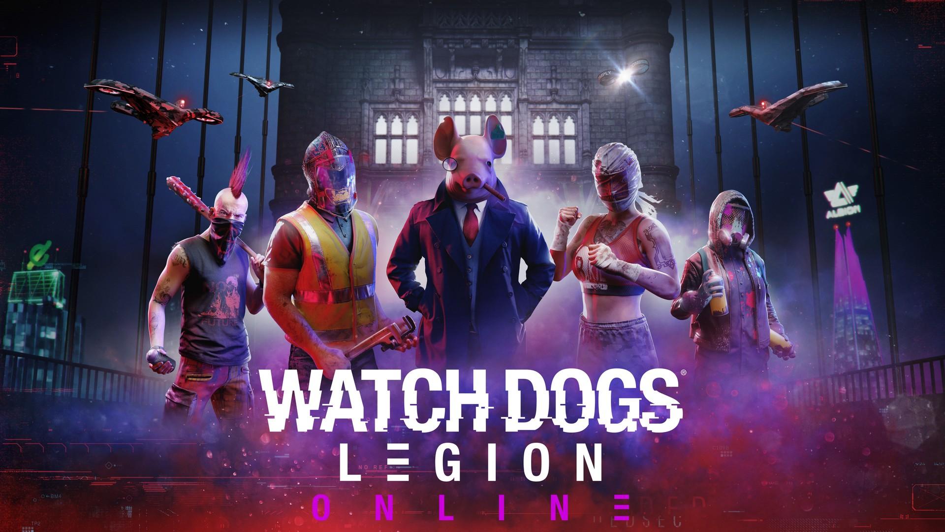 Watch Dogs Legion طور الأونلاين لعبة
