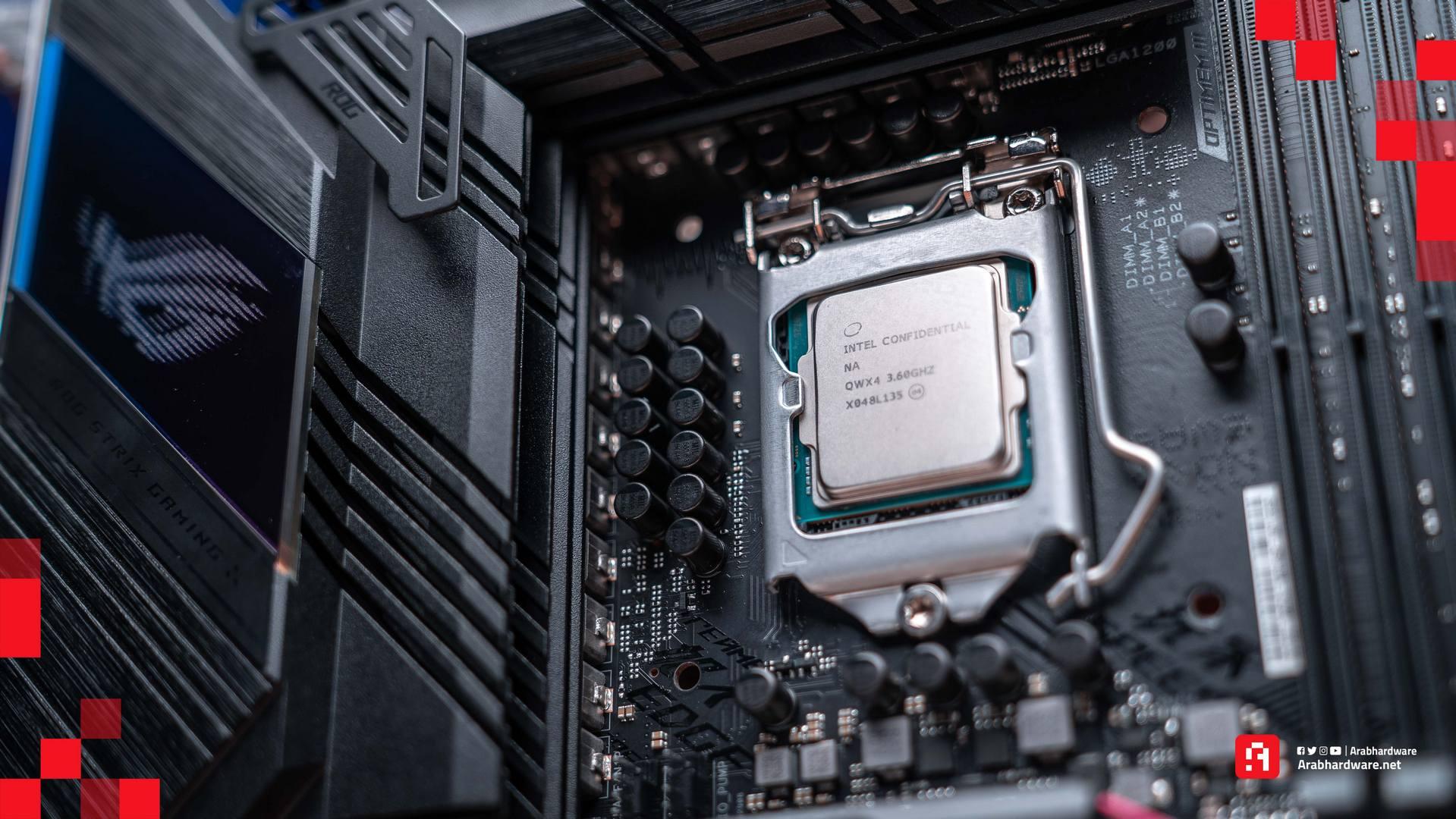 مراجعة Intel Core i7 11700K 3