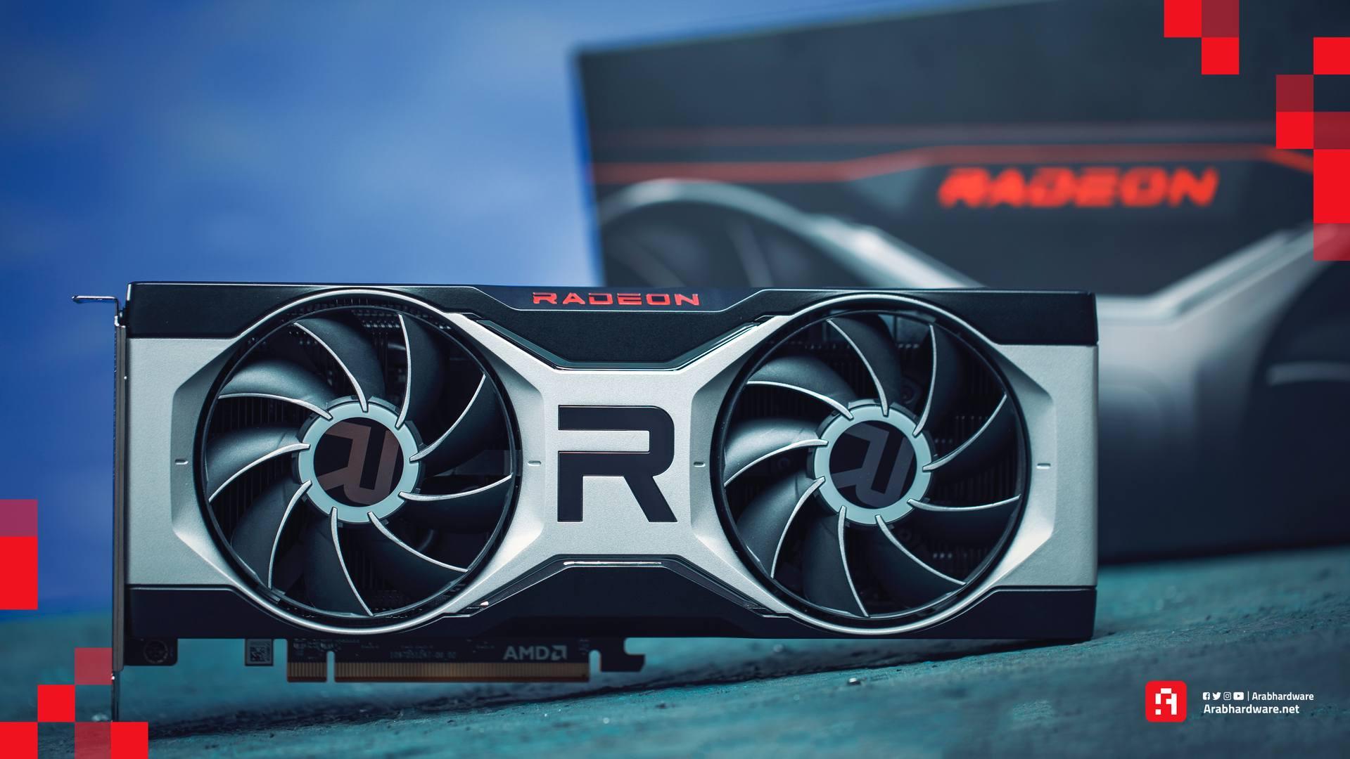 بطاقة AMD Radeon RX 6700 XT لأجهزة الكمبيوتر
