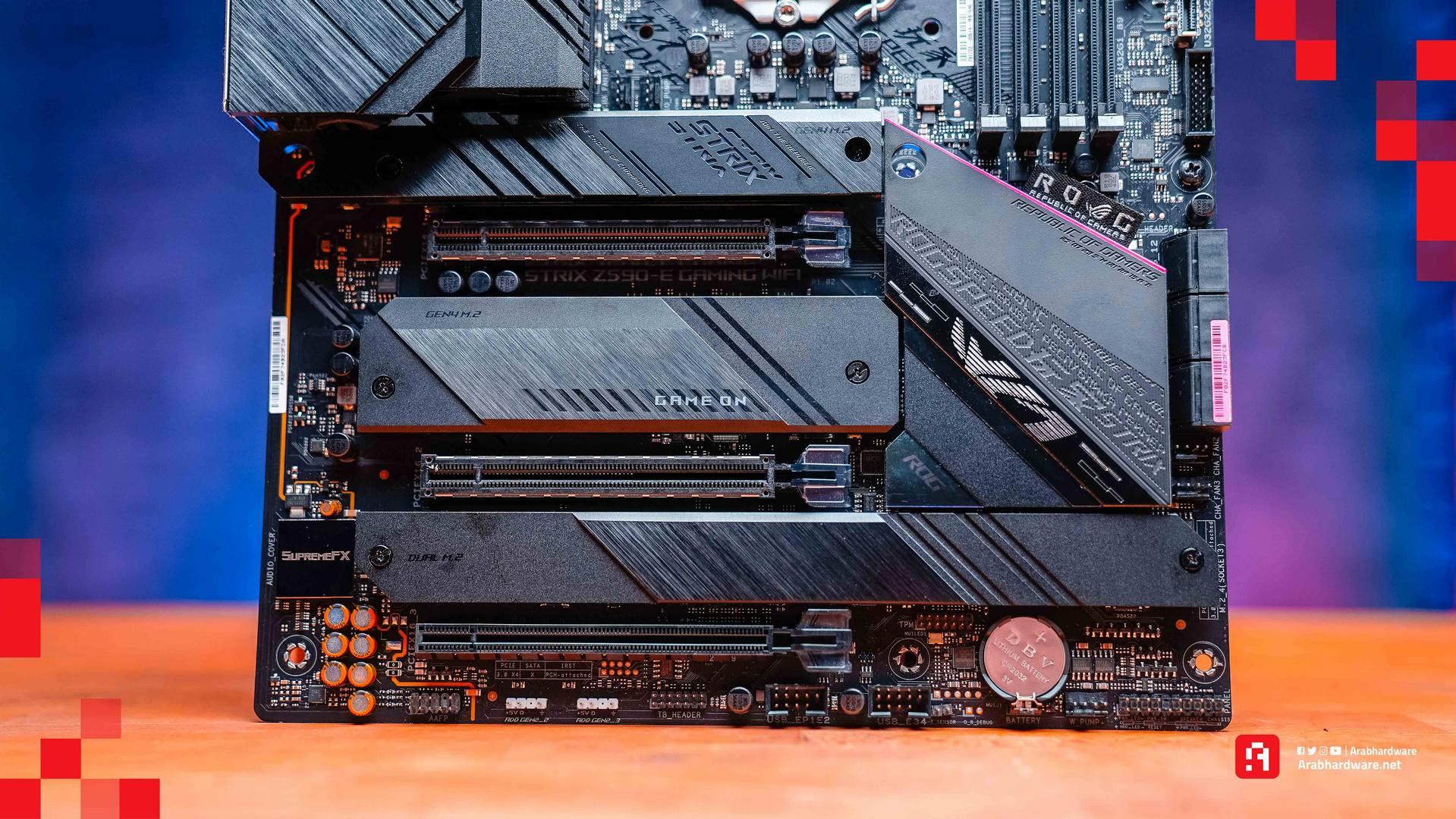 Intel Core i7 11700K x ASUS ROG