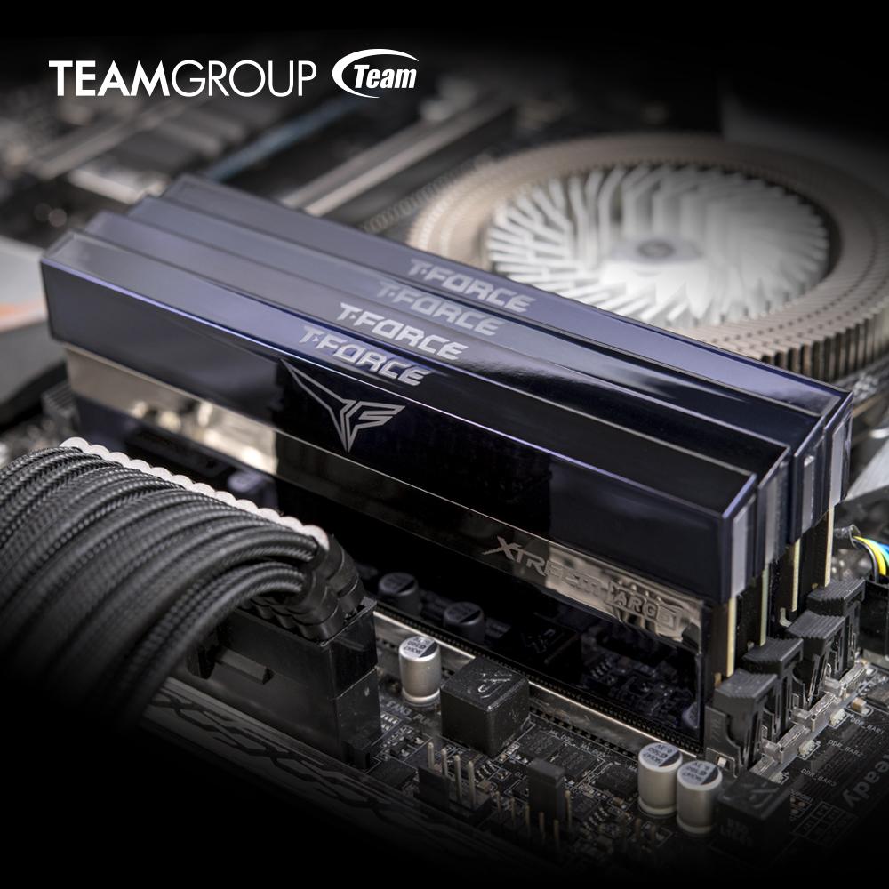 شركة TEAMGROUP تنجح في تطوير ذواكر DDR5 قابلة لكسر السرعة