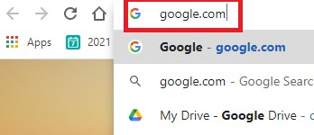 قُم بفتح مُحرك البحث جوجل