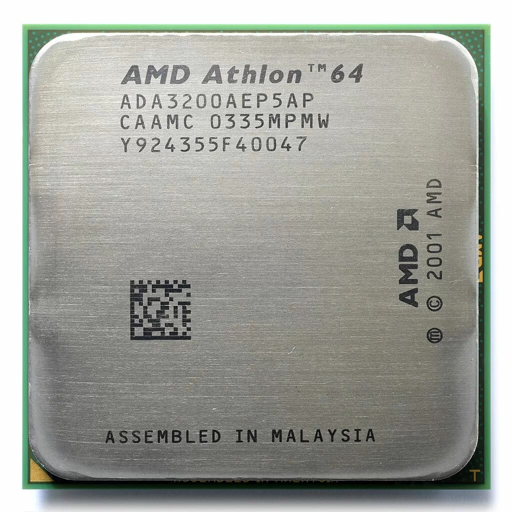 AMD athlon 64 , the pride of the golden age