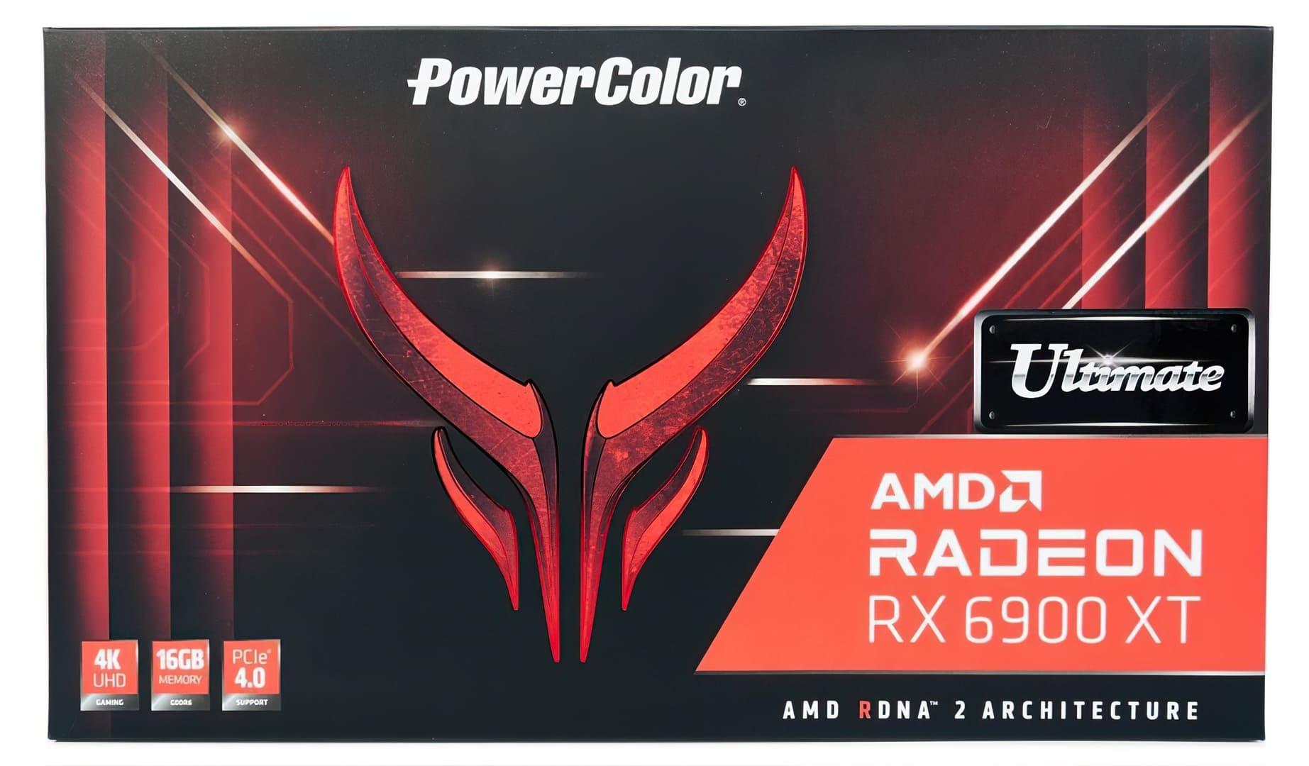 شركة PowerColor تطلق بطاقة Radeon RX 6900 XT Red Devil Ultimate