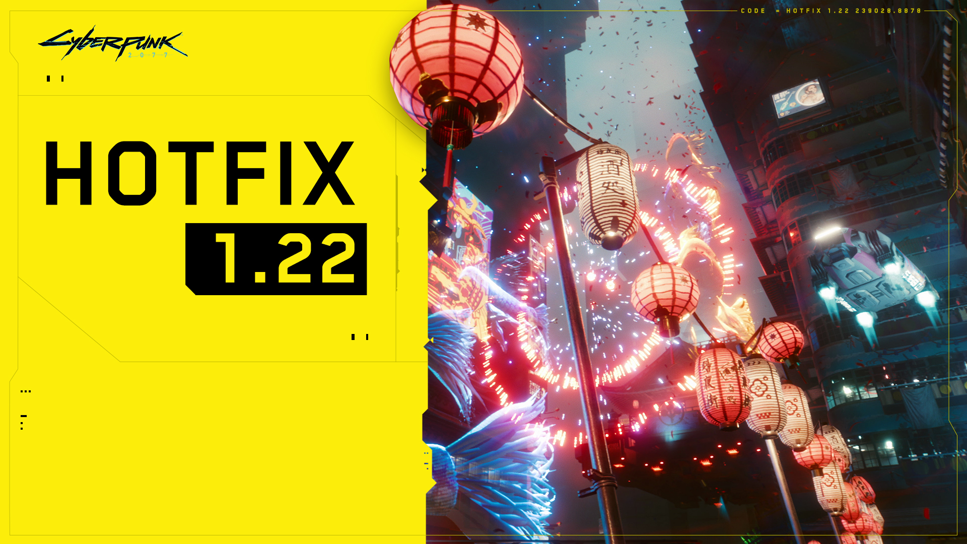 Cyberpunk 2077 CD Projekt Red تحديث 1.2