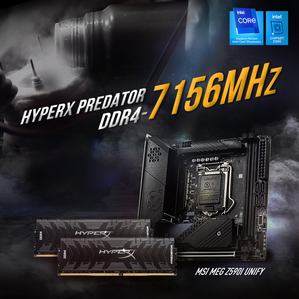 HyperX DDR4 World Record