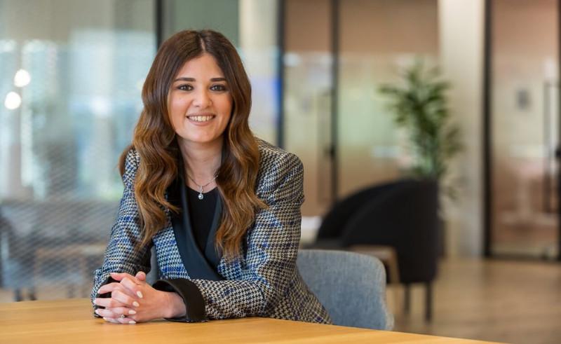 ميرنا عارف، المدير العام لشركة مايكروسوفت في مصر