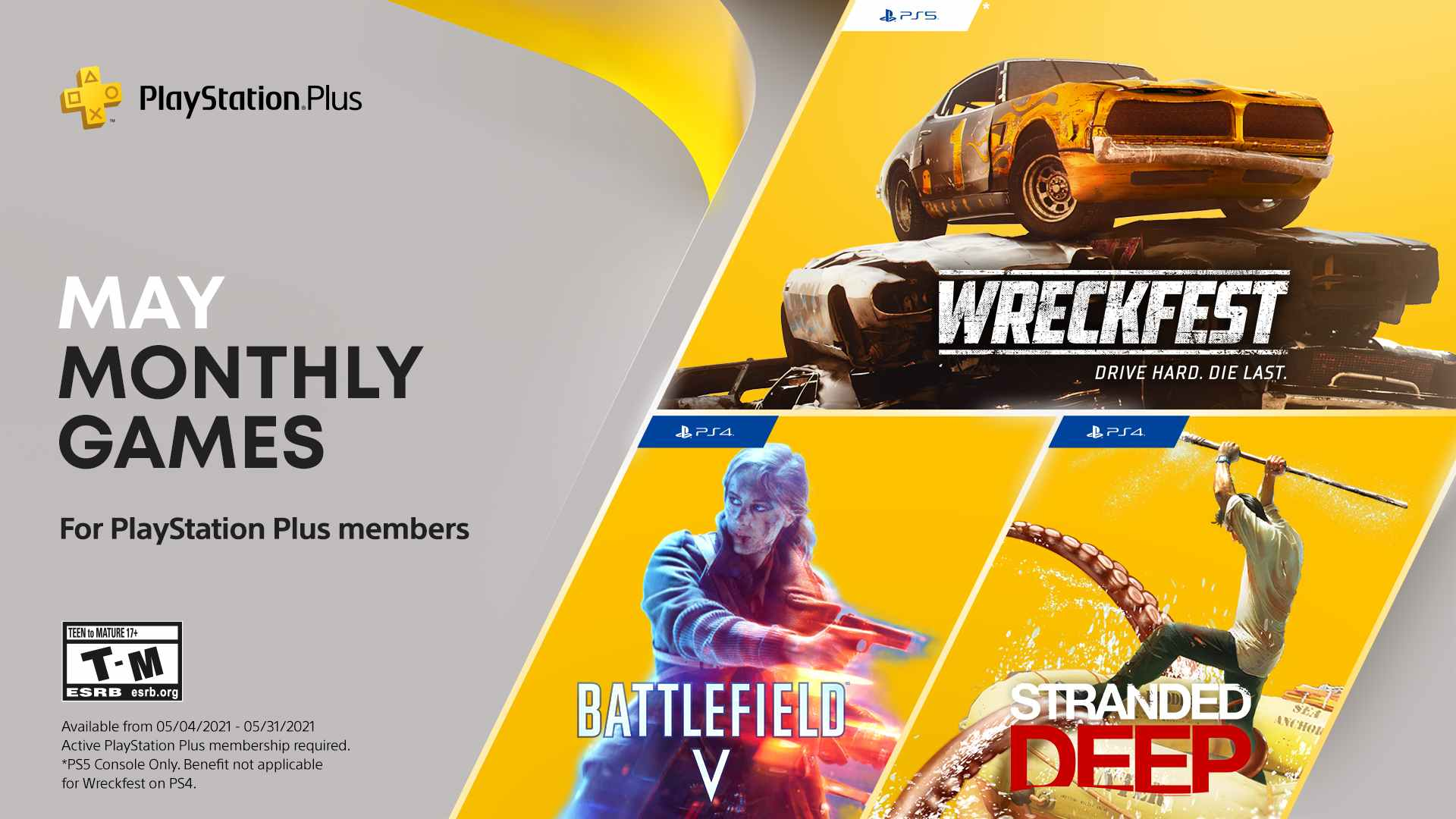 ps plus may