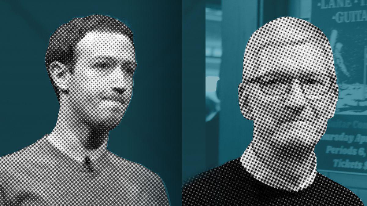 كيف أصبح مؤسس فيسبوك والرئيس التنفيذي لأبل ألد الأعداء