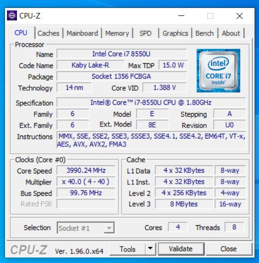 برنامج CPU-Z يوفر دعم مبدأي لمعالجات Alder Lake القادمة من Intel