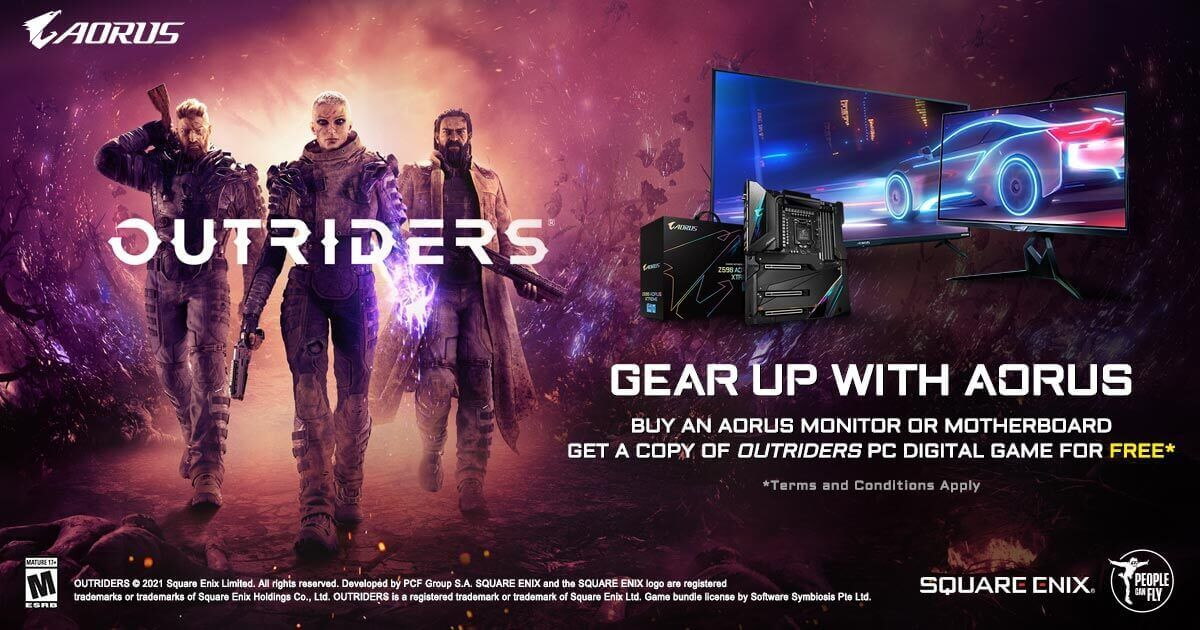 Aorus Outriders Deal