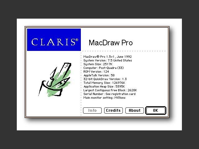 برنامج Apple MacDraw Pro الذي ساهم في تطويره Peirre Mourad Omidyar