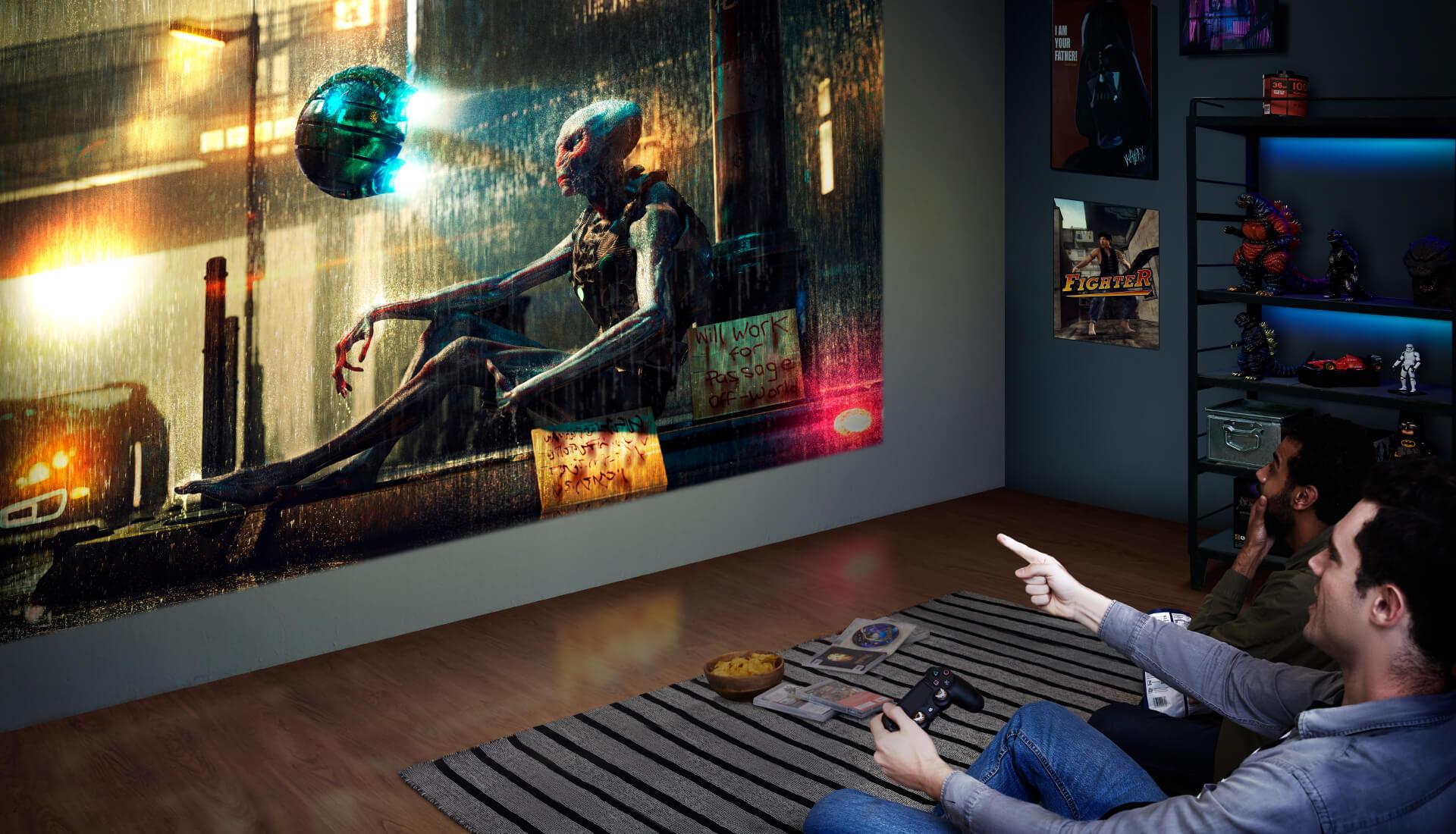 شركة BenQ تطلق جهاز العرض الجديد للألعاب TK700STi 4K بدقة عرض 4K