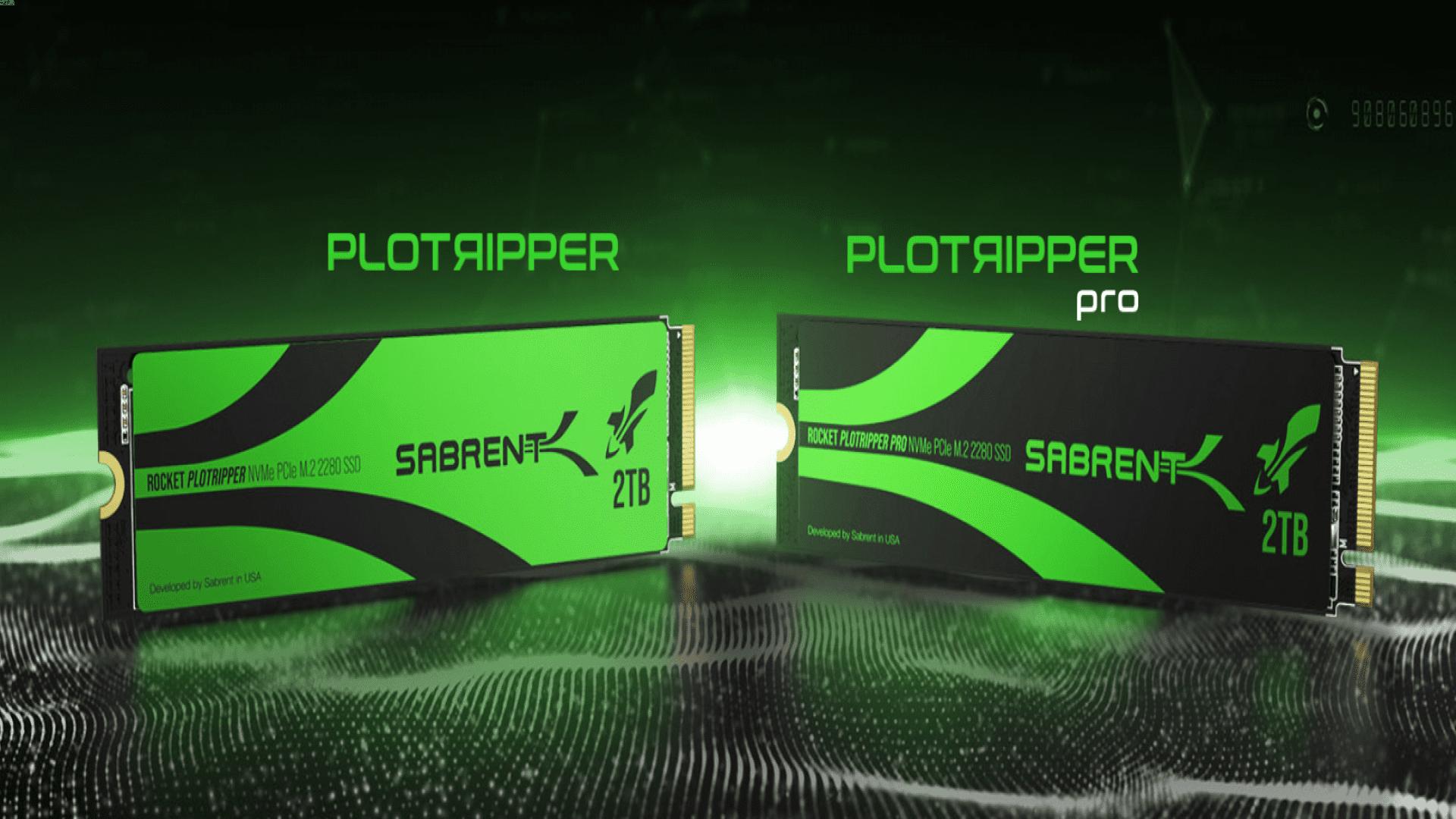 Computex21 : شركة Sabrent تعلن عن وحدات تخزين Plotripper SSD