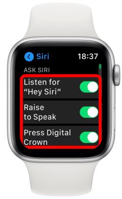 يمكنك أيضا سؤال سيري Siri