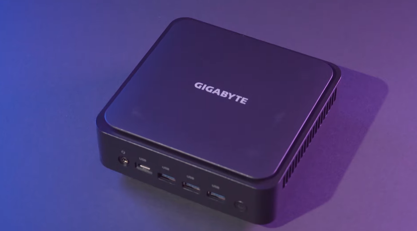GIGABYTE AMD Ryzen 5000U BRIX Mini PC