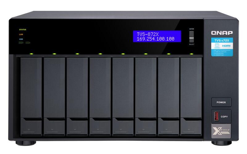 QNAP TVS-x72X 10 GbE NAS 0