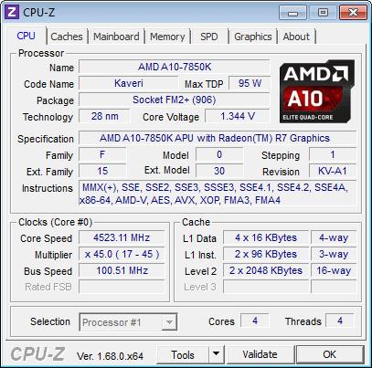 CPU Z OC
