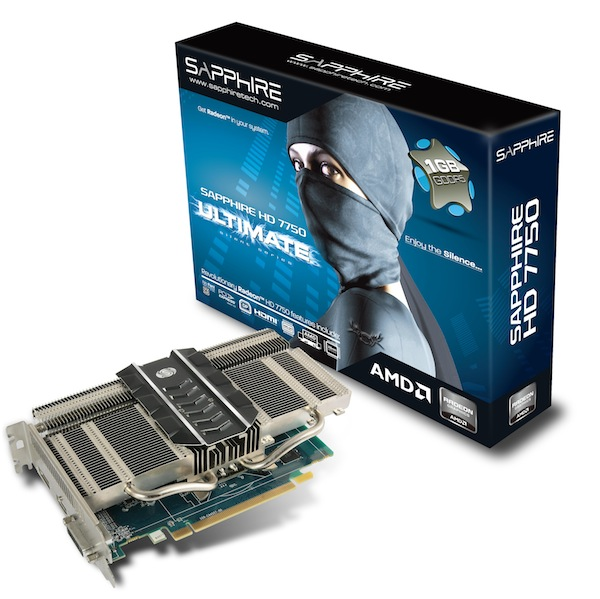 HD7750 Ultimate PCIE Box Card