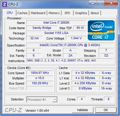 i7-2600k